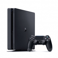 PlayStation 4 Slim 500Гб + 20 игр